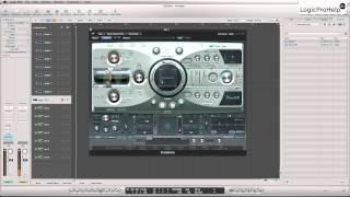 Logic Pro 9. Синтезатор Sculpture. Урок 4 [Logic Pro Help]