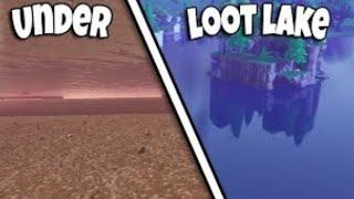 [EXCLU] PASSER SOUS LOOT LAKE !!