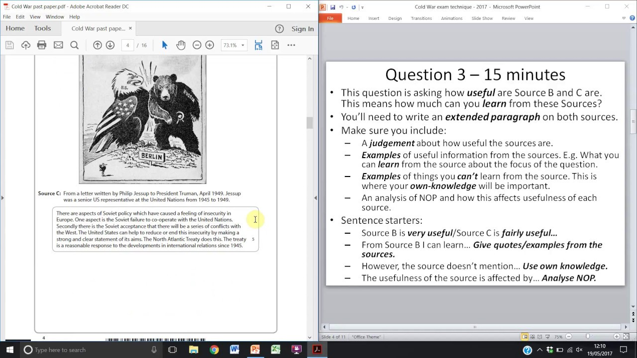 "how useful is a source example How to answer a source question in history you may not find that the genre of sample matters "" or ""this source is useful because it demonstrates that."