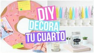 ♡ DIY: DECORACIÓN PARA TU CUARTO ♡