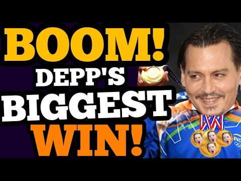 Download Depp's BIG WIN GETS BIGGER, and HOLLYWOOD is SALTY!