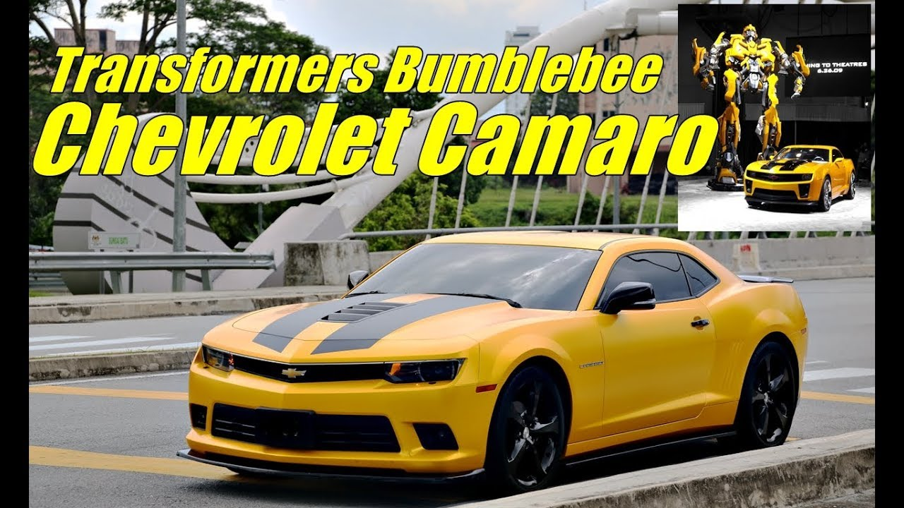 Full Review Transformers Bumblebee Chevrolet Camaro 2015 Youtube
