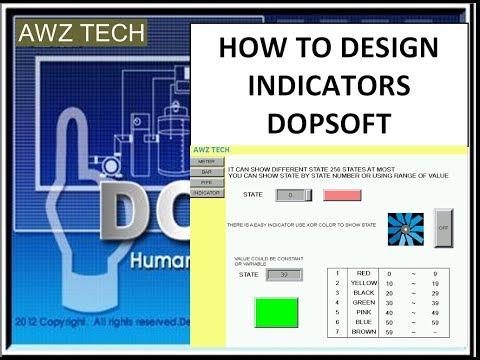 HOW TO DESIGN INDICATOR ELEMENT DOPSOFT