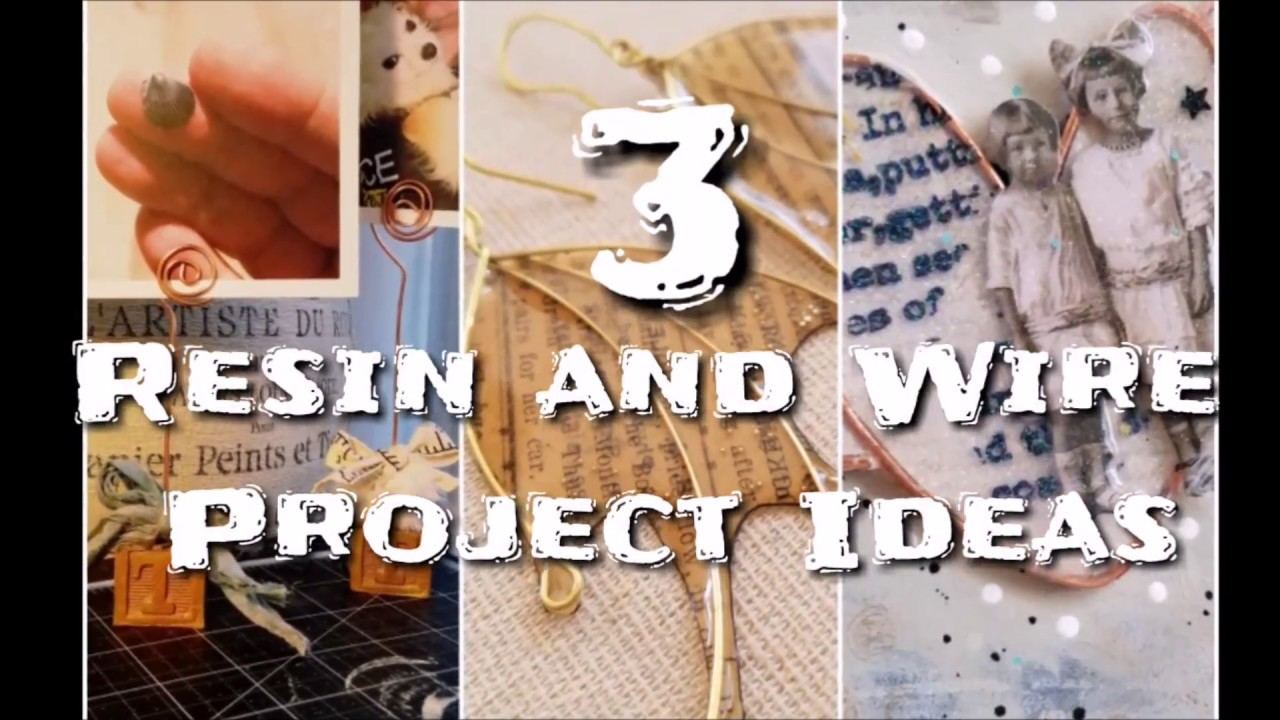 resin wire project ideas amazing casting products youtube