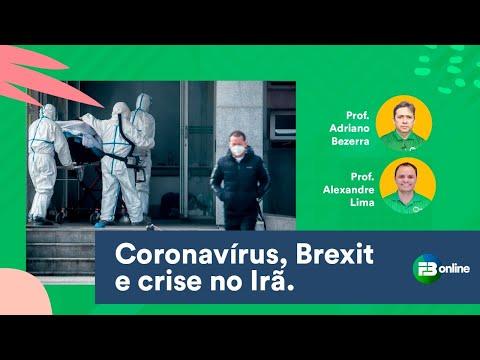 Atualidades No Enem: BREXIT, CORONAVÍRUS E CRISE NO IRÃ.