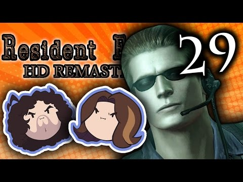 Resident Evil HD: Oh No! It's Wesker - PART 29 - Game Grumps