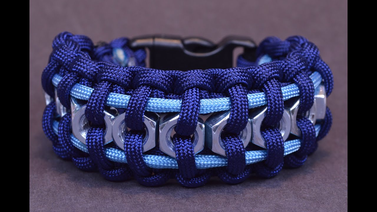 How To Make The Hex Nut Paracord Survival Bracelet Boredparacord