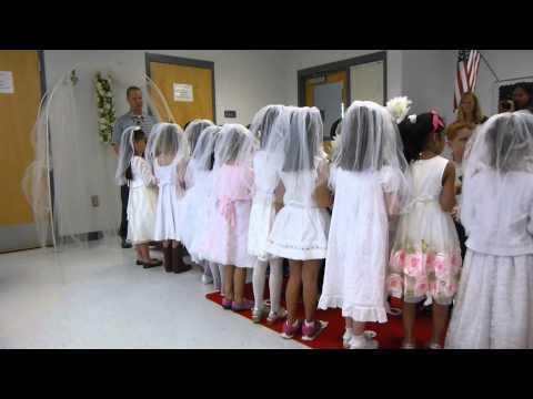 Connor's Pretend Q and U wedding - Kindergarten