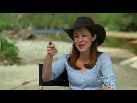 Autumn Reeser and Horses  A Country Wedding Hallmark Channel