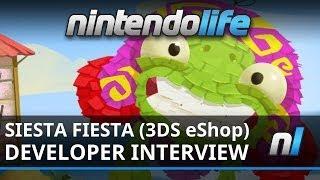 Siesta Fiesta (3DS eShop) Playthrough and Developer Interview