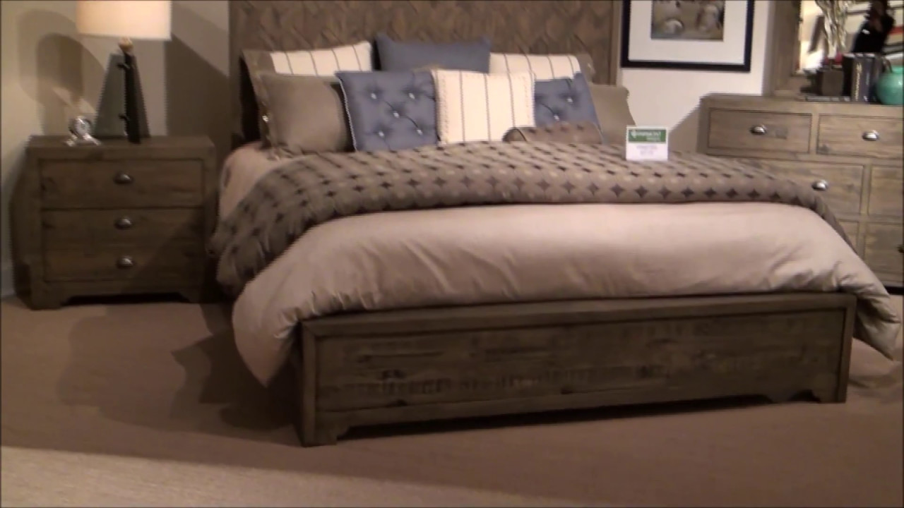 Crafted bedroom set by fairmont designs youtube for Fairmont designs bedroom furniture sets