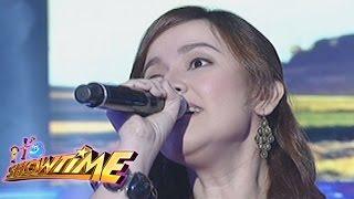 """It's Showtime Singing Mo To: Lilet sings """"Tulak Ng Bibig, Kabig Ng Dibdib"""""""
