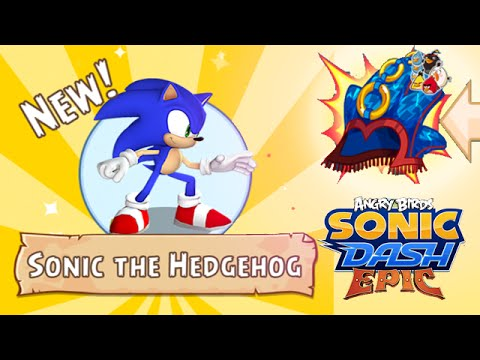 Angry Birds Epic: Sonic Dash Event Start - Unlocked New Character Sonic The HedgeHog