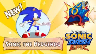 Angry Birds Epic Sonic Dash Event Start Unlocked New Character Sonic The HedgeHog