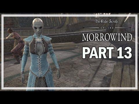 The Elder Scrolls Online Morrowind Let's Play Part 13 - Assassination