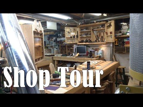 Shop Tour - Matt Cremona's Woodworking Shop