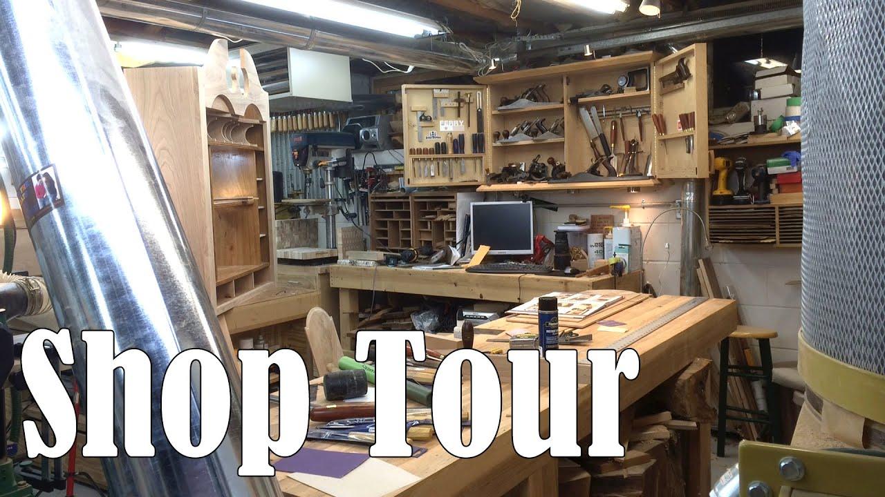 Shop Tour - Matt Cremona's Woodworking Shop - YouTube