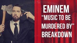 "Eminem Disses MGK, Joe Budden, Tee Grizzley, Nick Cannon & More On ""Music To Be Murdered By"" Album"