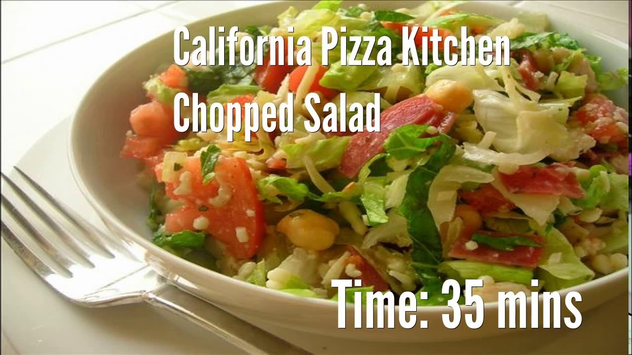 California Pizza Kitchen Recipes | California Pizza Kitchen Chopped Salad Recipe Youtube