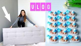 видео Как сделать изголовье для кровати своими руками