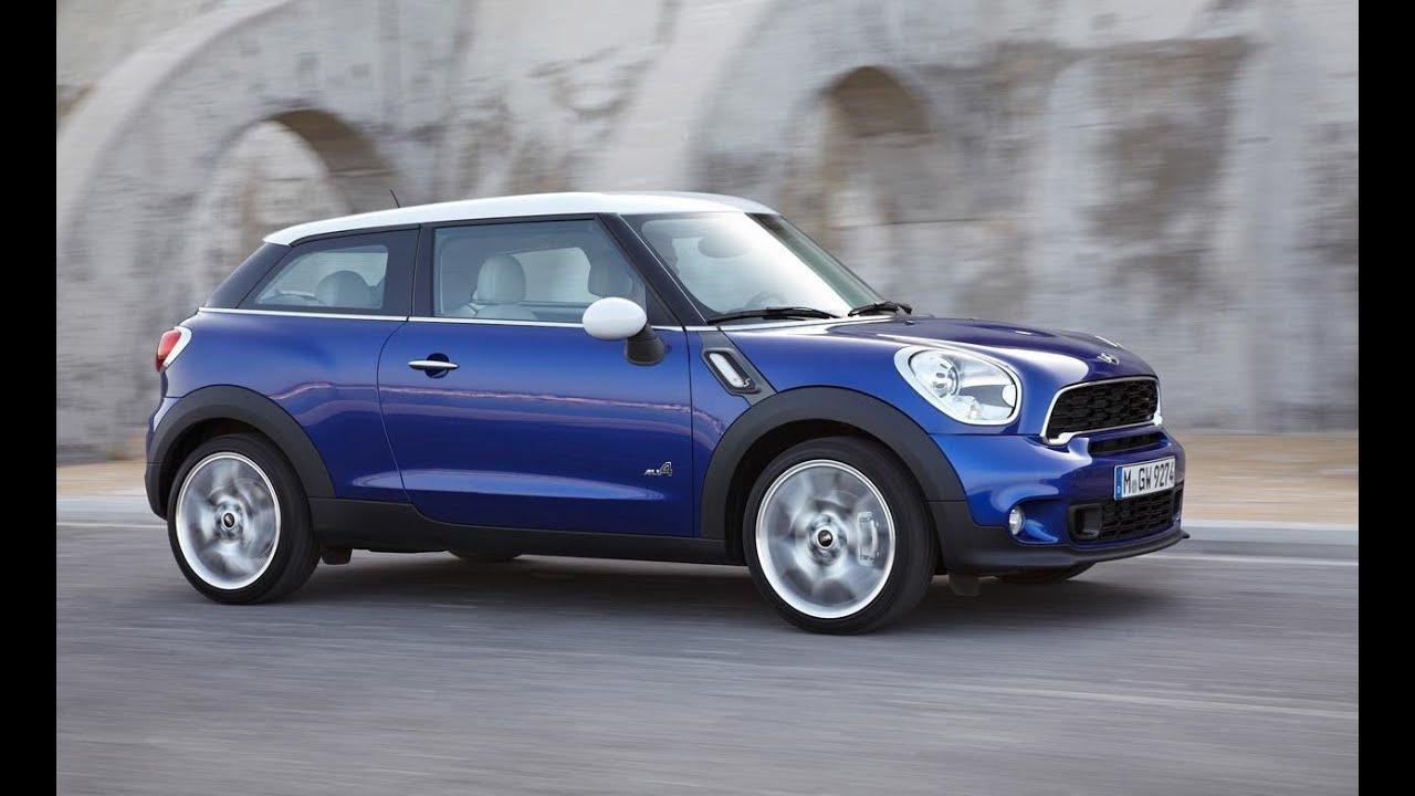 2013 Mini Cooper S Paceman All4 0 60 Mph Performance Test Youtube