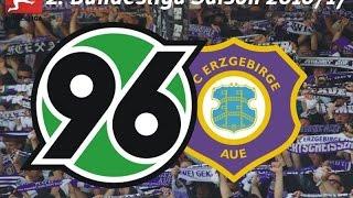 Hannover 96 VS. FC Erzgebirge Aue [JAWOOOOLL] #Stadion V-Log