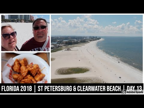 Florida Sept 2018 | Beach day, St Petersburg & Clearwater | Day 13