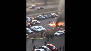 Сожгли авто в Курске