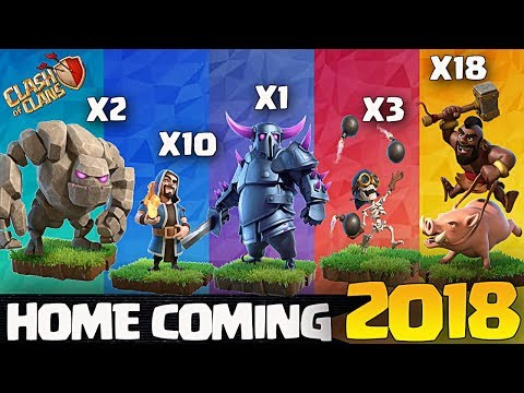 Th8 Gowipe / GoHoWiPe Attack Strategy | Clash Of Clans | Updated Gowipe 2018 | Triple threat event