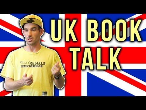 AMAZON UK TALK   SELLING BOOKS IN United Kingdom   REEZY RESELLS PUBLIC SPEAKER