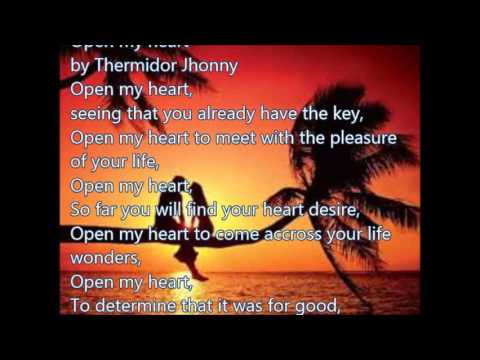 Open my heart - Love Poems