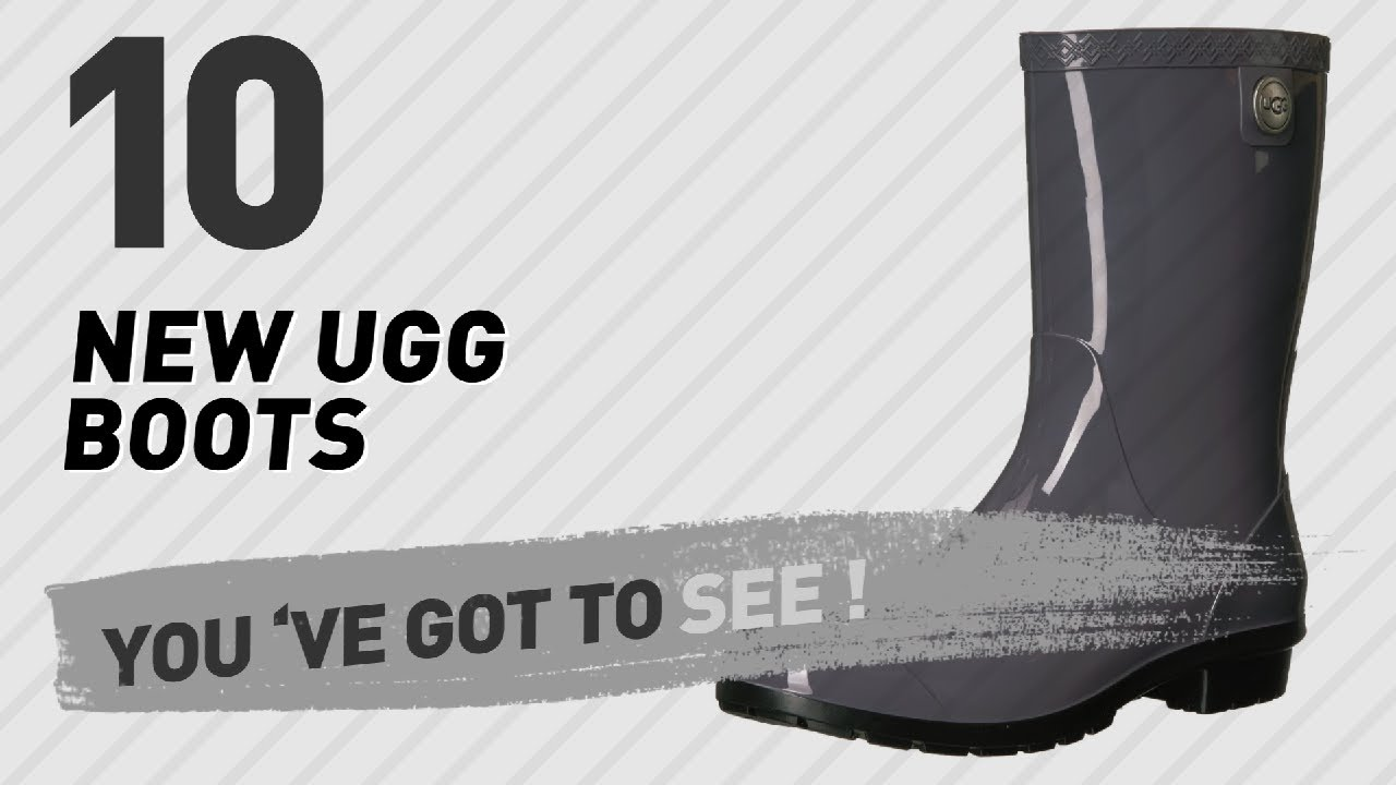 f7a46c2b3ad Ugg Boots Rain Collection // New & Popular 2017