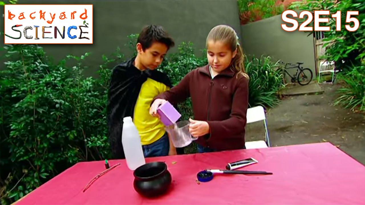 Backyard Science Games backyard science | s2e15 | make a fizzing wizard caldron - youtube