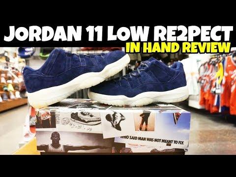 Jordan 11 Low RE2PECT Derek Jeter 1ST LOOK DETAIL