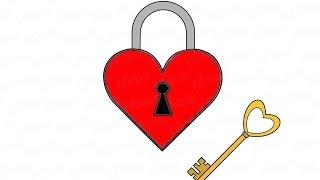 Как нарисовать замок от сердца: инструкция от EvriKak(Предлагаем пошаговую инструкцию как рисовать замок от сердца на день влюбленных. Фото и текстовая инструкц..., 2016-02-23T09:02:50.000Z)