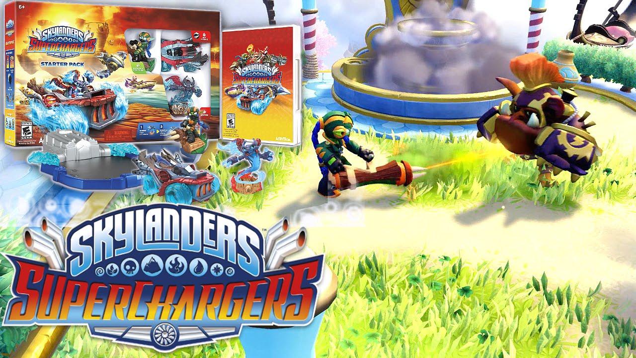 Uncategorized Skylanders Games Online Free skylanders superchargers starter pack vs portal owners review youtube