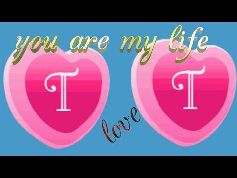 T letter whatsapp love status Love song