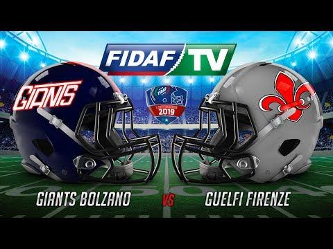 Giants Bolzano vs Guelfi Firenze