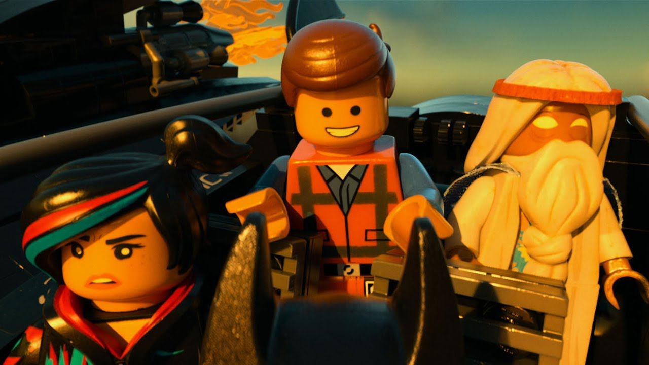 The Lego Movie was a wildly inventive children's film