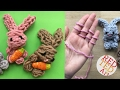 Finger Knitting Bunny DIY - No Sew Knitted Bunny How To