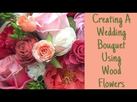 Sola Wood Flower: Creating a wedding bouquet