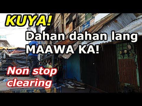 BAKLAS LAHAT! Non Stop Clearing Operation! Santa Ana, Manila.