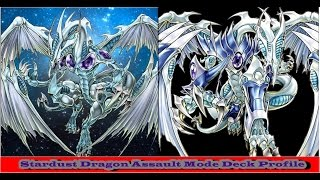 YGOPRO! Stardust Dragon Assault Mode Deck Profile! Suel Kaiser Ltda Lt! Increva-se