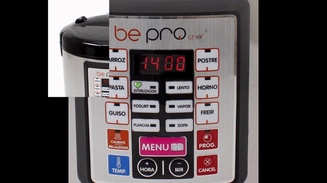 Robot de cocina bepro chef premier plus 5 l cocina por ti youtube - Robot de cocina chef titanium ...