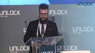 UNLOCK 2019 - Keynote by Toufi Salibia - Blockchain Today: Less than 0.2% Global Penetration