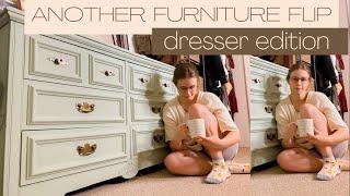 Another Furniture Flip: Dresser Edition