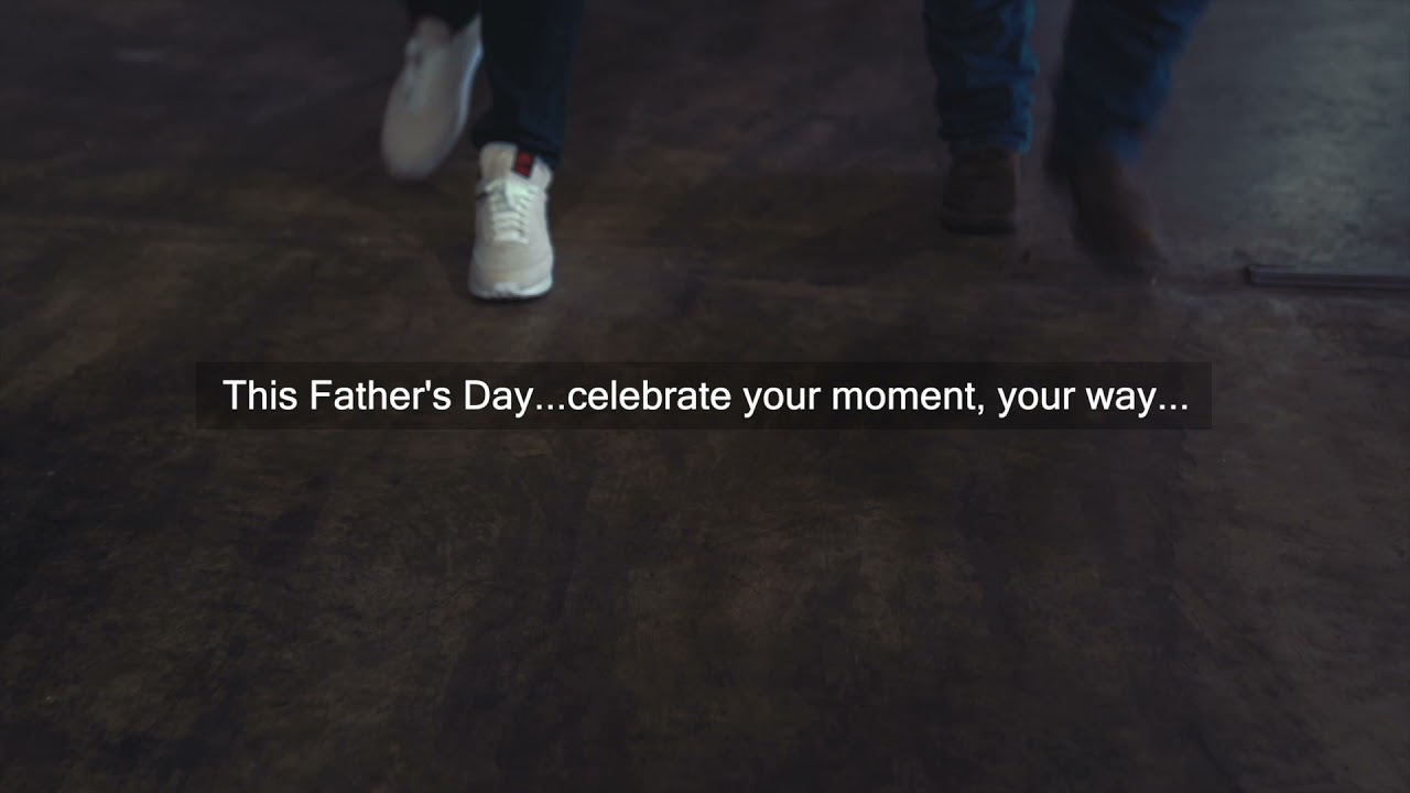 Happy Father's Day to all of the Dad's out there.