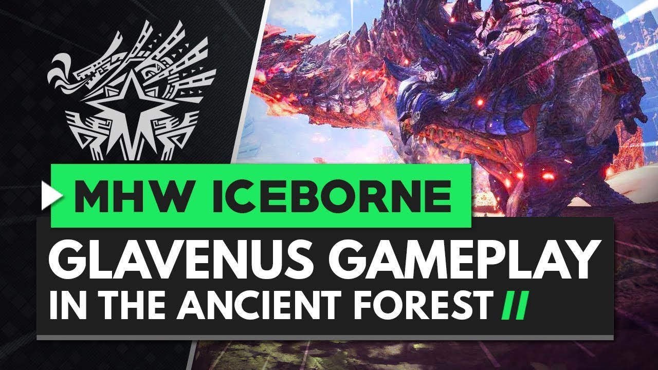 Monster Hunter World Iceborne | New Glavenus Multiplayer Hunt Gameplay thumbnail