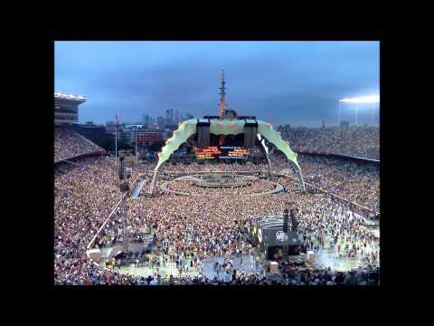 U2 20110723 TCF Stadium, Minneapolis, MN