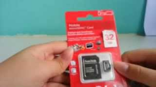 counterfeit Sandisk Micro SD 32GB